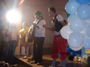 Teatro para crianças - Professores dos projetos sociais