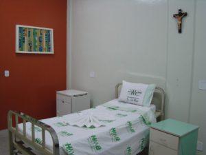 Maternidade do Hospital Regional de Bocaiúva quando entregue à população